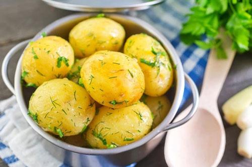 cách giảm cân bằng khoai tây