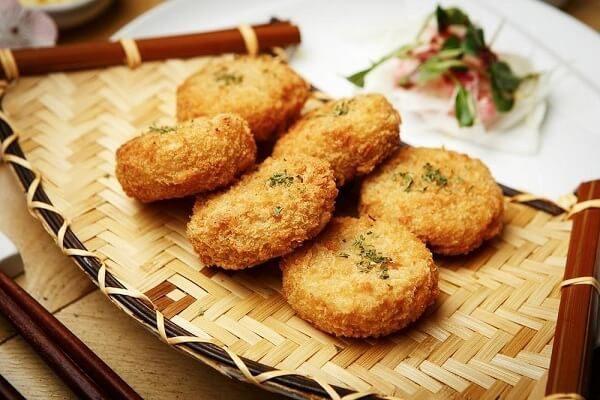 khoai tây chiên bột mì