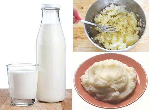Những lưu ý khi sử dụng khoai tây và sữa tươi